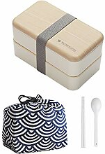 Bento Box, Lunchbox Kinder, Doppelte Brotdose