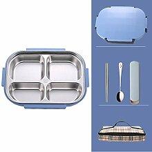 Bento Box Lunchbox Schul-Lunchbox Mikrowelle Mit