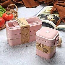 Bento Boxen Gesundes Material Lunch Box 3 Schicht