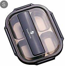 Bento Lunch Box Edelstahl - Auslaufsichere