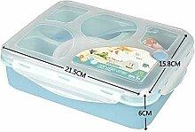 Bento Lunchboxen - Brotdose mit 5 Fächern und