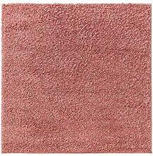 benuta ESSENTIALS Teppich, Rosa, 200x200 cm