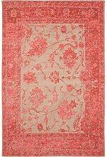 Benuta Flachgewebe Teppich Frencie Flora Rot