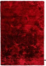 benuta Shaggy Hochflor Teppich Whisper Rot 160x230