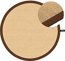 benuta Sisal Teppich mit Bordüre Durchmesser 160