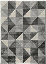 benuta Teppich Justin Hellgrau 80x150 cm |
