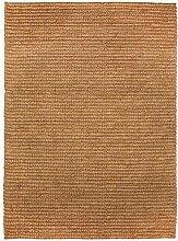 benuta Teppich Jute Loop Naturfaserteppich für Flur und Wohnzimmer, Sisal, Beige, 160 x 230 cm