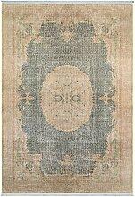 benuta Teppich mit Print Siljan Beige 160x230 cm