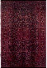 benuta Teppich mit Print Siljan Rot 160x230 cm