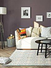 benuta Teppich Topaz Türkis 115x170 cm | Moderner Teppich für Wohn- und Schlafzimmer