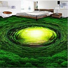 Benutzerdefinierte 3D Boden Tapete Traum Wald