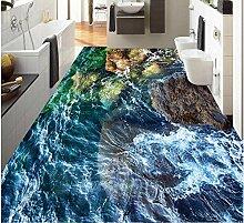 Benutzerdefinierte 3D-Bodenbelag Painted Tapete