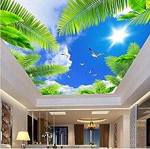 Benutzerdefinierte 3D-Decke Wandbild Fototapete