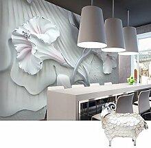 Benutzerdefinierte 3D Foto Tapete für Wohnzimmer Malerei Schlafzimmer Fernsehen Wand Wandmalereien PVC geprägte Tapete XXXL (448 * 280cm) XXL (416 * 254cm) XL (312 * 219cm) , 3xl
