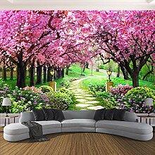 Benutzerdefinierte 3D-Fototapete Blume Romantische
