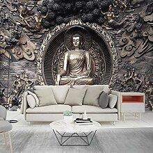 Benutzerdefinierte 3D Fototapete Buddha Leinwand