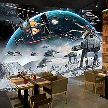 Benutzerdefinierte 3D-Fototapete Cartoon Star Wars