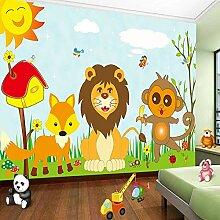 Benutzerdefinierte 3D-Fototapete für Kinderzimmer