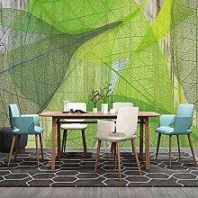Benutzerdefinierte 3D-Fototapete Grün Blätter