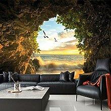 Benutzerdefinierte 3D-Fototapete Höhle Natur