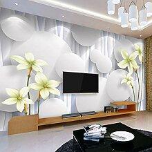 Benutzerdefinierte 3D Fototapete Moderne Blume