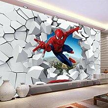 Benutzerdefinierte 3D-Fototapete Superheld