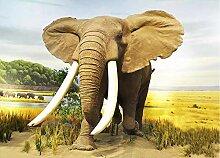 Benutzerdefinierte 3D Fototapete Tierischer