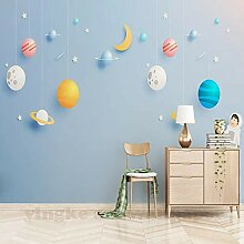 Benutzerdefinierte 3D Mural Bettwäsche Zimmer Tv