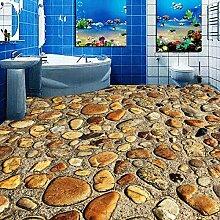 Benutzerdefinierte 3D Mural Stein Pebbles Pvc