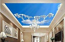 Benutzerdefinierte 3D Tapete Pilz Wolke Wohnzimmer