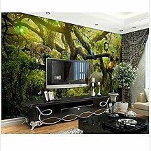 Benutzerdefinierte 3D Wallpaper Wald Tiere