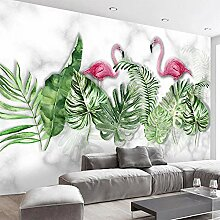 Benutzerdefinierte 3D Wandbild Moderne Pflanze
