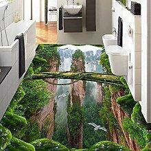 Benutzerdefinierte Foto Tapete 3D Stereo Wälder