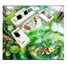 Benutzerdefinierte Fototapete 3D Bodenbelag