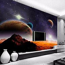 Benutzerdefinierte Fototapete 3D Planet Universe
