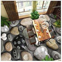 Benutzerdefinierte Fototapete 3D Stein Wohnzimmer