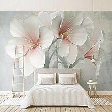 Benutzerdefinierte Fototapete 3D Stereo Blumen