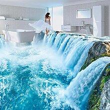 Benutzerdefinierte Fototapete 3D Wasserfälle
