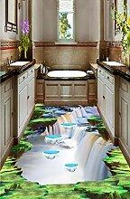 Benutzerdefinierte Fototapete Boden Malerei