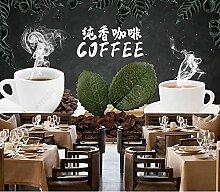 Benutzerdefinierte Fototapete Casual Coffee Shop