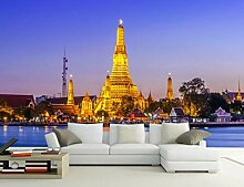Benutzerdefinierte Fototapete HD Thai Palace Jinta