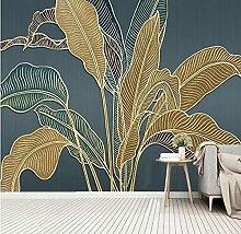 Benutzerdefinierte Fototapete Moderne Pflanze