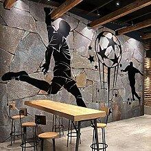 Benutzerdefinierte Fototapete Retro Backsteinmauer
