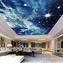 Benutzerdefinierte Fototapete Sternenhimmel Wolken