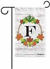 Benutzerdefinierte Garten Flagge,Willkommen Herbst