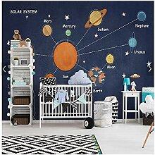 Benutzerdefinierte Kinder Tapete, Raum Planet