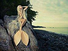 Benutzerdefinierte Meerjungfrau Fototapete