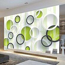 Benutzerdefinierte Produkte 3D-Hintergrund Wandmalerei Ideen Wohnzimmer Wände einfach Videos Wand Papier benutzerdefinierte Selbstklebende Tapete 250 cm * 175 cm