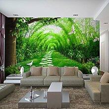 Benutzerdefinierte Produkte moderne und stilvolle Wohnzimmer TV Hintergrund Wandmalerei Ideen Schlafzimmer Tapete benutzerdefinierte videos Tapete selbstklebende Wand Tuch 350 cm * 245 cm