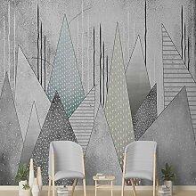 Benutzerdefinierte Produkte modernen Nordischen Hintergrund Wandmalerei geometrische Wohnzimmer Wände Ideen videos Wand selbstklebende Tapete 350 cm * 245 cm
